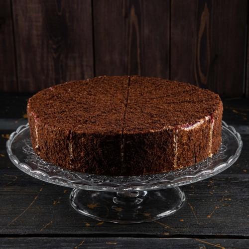 Торт Шоколадно-Малиновый Медовик